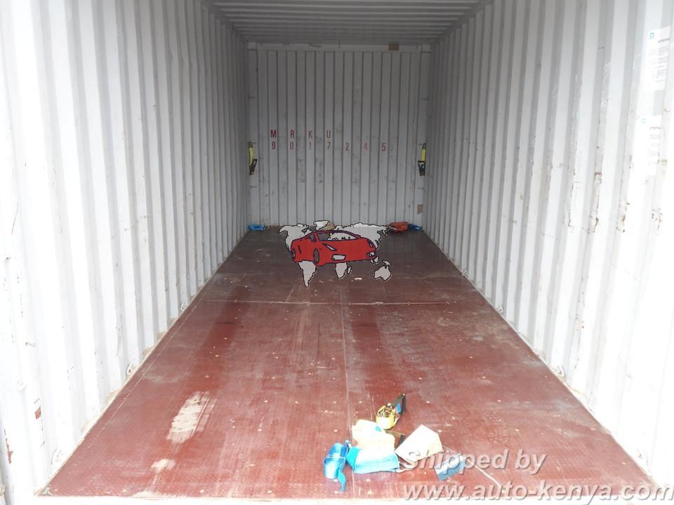 Van Shipping to Mombasa Kenya