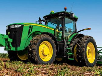 Shipping Farm Tractors
