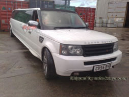 Range Rover Limousine Shipped by Auto Kenya to Mombasa