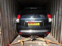 2010 Toyota Land Cruiser Prado in a 20 FT to Mombasa