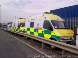 Ambulance Shipping to Mombasa Kenya