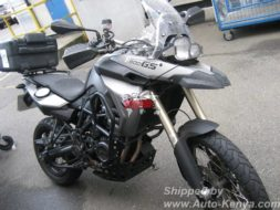 BMW F800 Motor Bike Shipped by RoRo