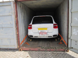 Porsche Cayenne GTS Shipped by Auto Kenya in a 20FT