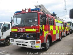 Fire Engines Being Shipped to Mombasa