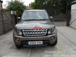 Brand New Land Rover Discovery 4 in a 20 FT Container to Mombasa