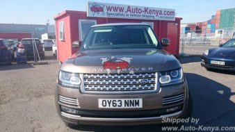 Lovely New Shape Range Rover with Top Specification to Mombasa