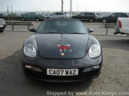 Porsche Boxter Shipping to Mombasa Kenya