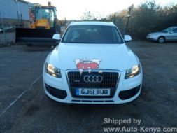 Audi Q5 Shipped in a 20 FT Container to Mombasa Kenya
