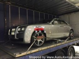 Brand New Rolls Royce Ghost Air Freighted to Nairobi JKIA