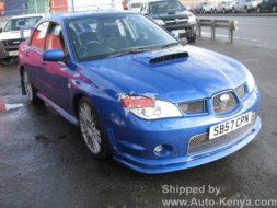 Subaru Impreza shipped RoRo to Mombasa