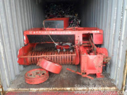 Truck Farm Machinery and Bikes in a 40 FT Container