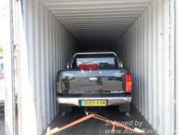 2 Toyota Hiluxs in a 40FT Container to Mombasa